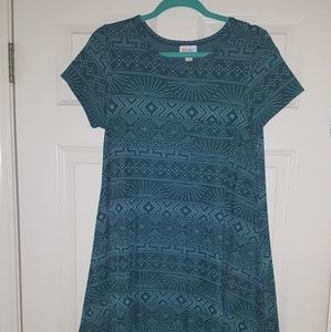 XS teal and mint Aztec Carly